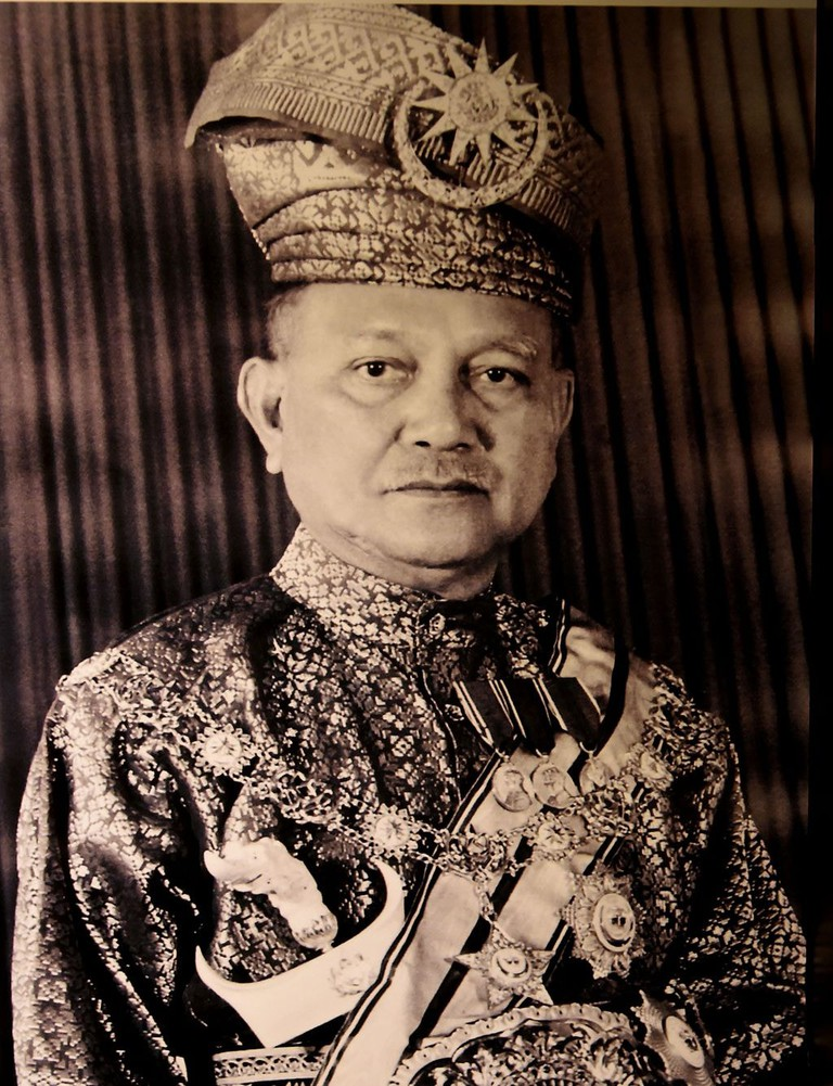 The first Agong of Malaya
