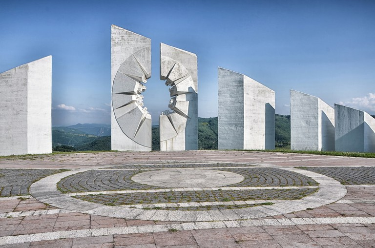 The memorial complex at Kadinjaca
