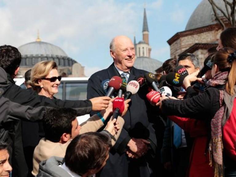 King Harald in Turkey   © Lise Aserud - NTB SCANPIX, Courtesy of Kongehuset