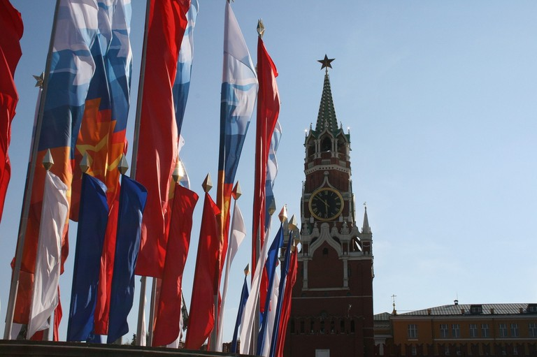 The Kremlin on Victory Day
