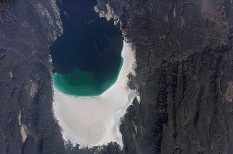 lake assal by Nasa