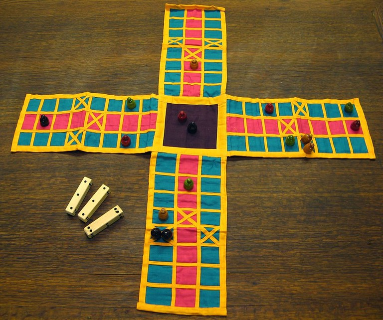 Pachisi was an earlier form of Ludo