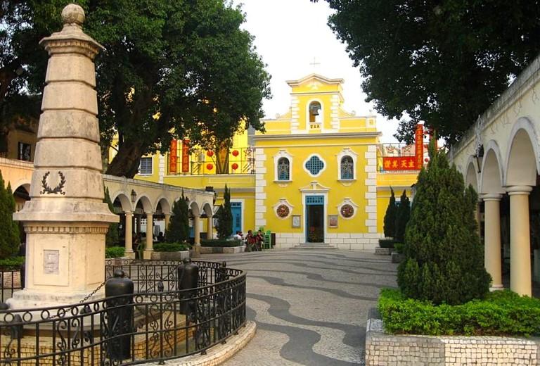 Macau_coloane_village_St Francis Xavier Church