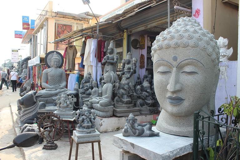 Mamallapuram_Art_Sculpture_Shops