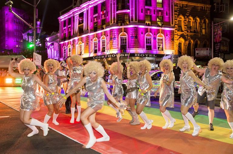 Sydney Gay and Lesbian Mardi Gras parade 2014