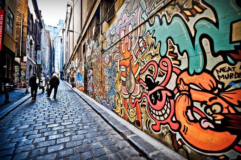 Melbourne street art | © Fernando de Sousa:Flickr