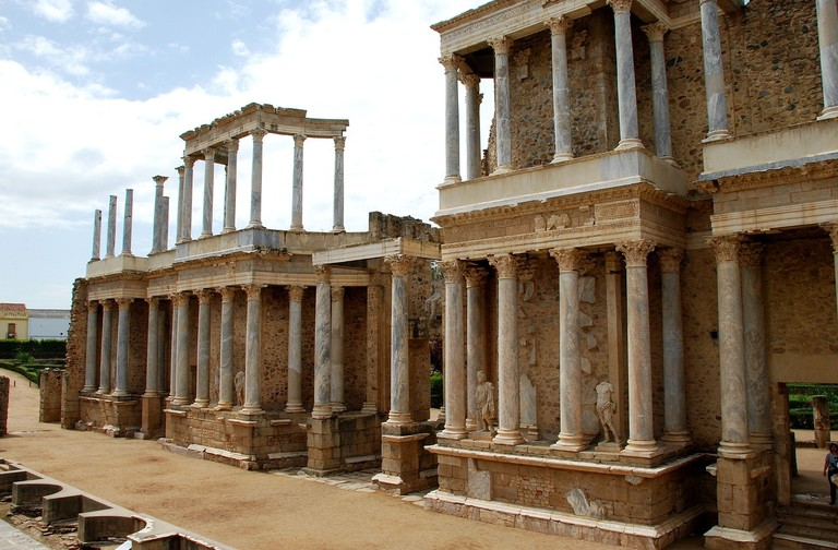 Roman Theatre in Merida, Spain