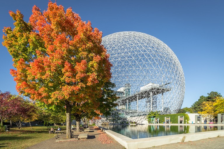 Autumn at the Montreal Biosphere