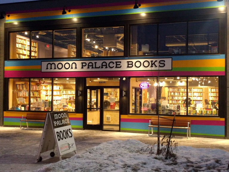 Moon Palace Books Exterior | Courtesy of Moon Palace Books