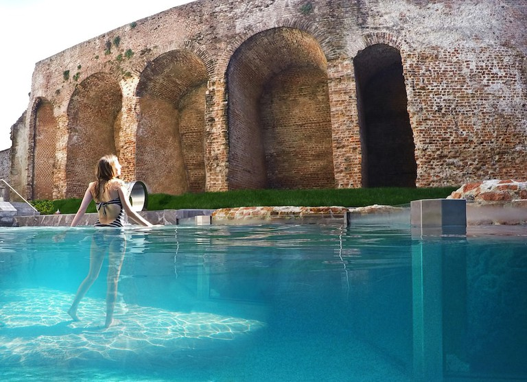 QC Terme Milano, a tranquil thermal spa hidden inside ancient Roman architectural remains | Courtesy QC Terme Milano
