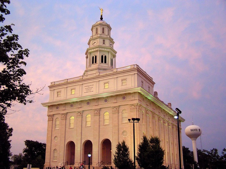 The Mormon Temple in Nauvoo, IL