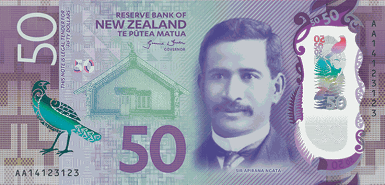 NZ $50 Note | ©Evilreality001 / Flickr