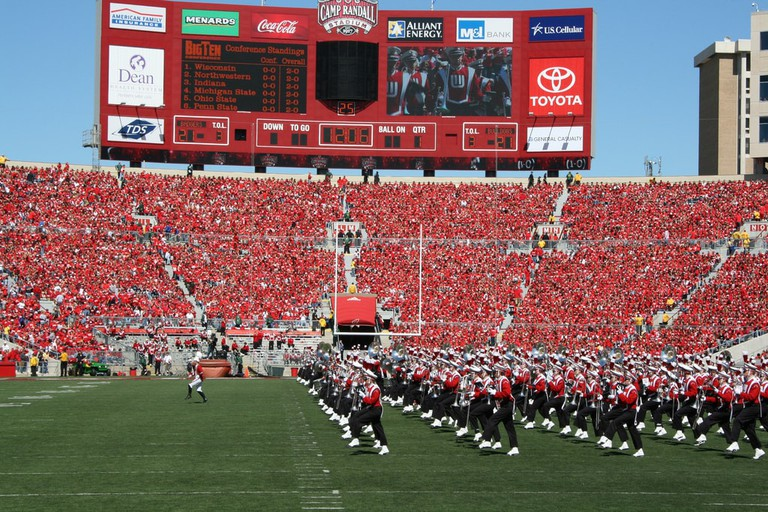 University of Wisconsin Band | © Jeramey Jannene/flickr