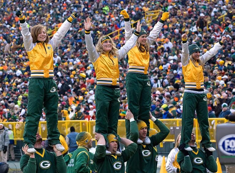 Green Bay Packer Cheerleaders | Mike Morbeck/flickr