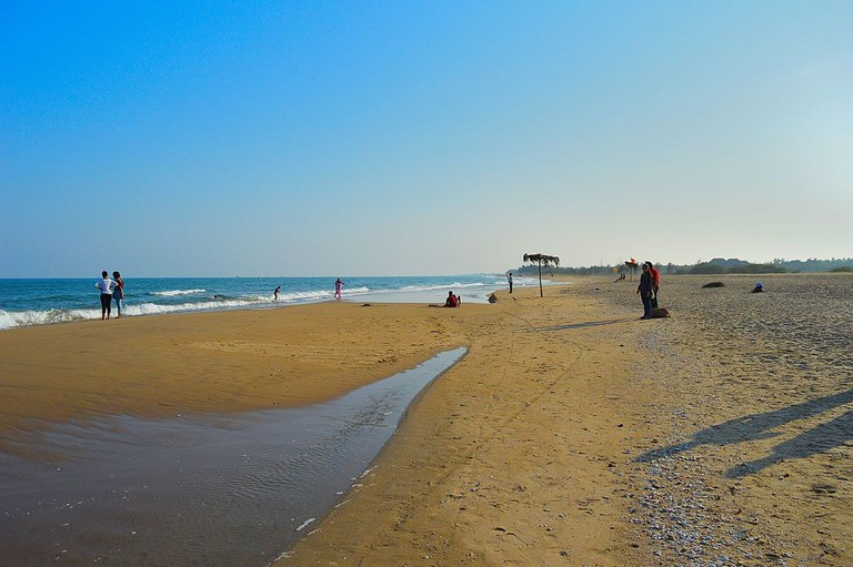 Pondicherry's Paradise Beach can only be accessed by boat from the nearby Chunnamber Boathouse