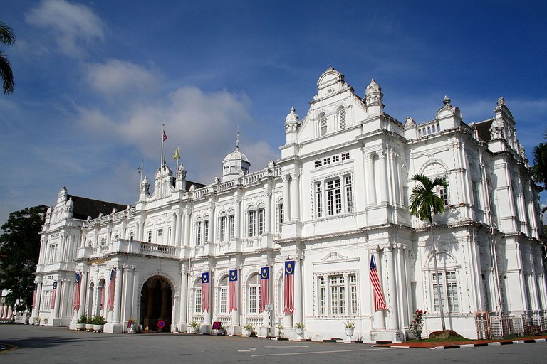 British Colonial architecture in Penang | © Jorge Cancela/Flickr