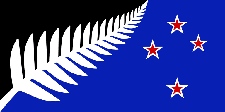 Proposed NZ Flag Design | © Mwtoews / Wikicommons