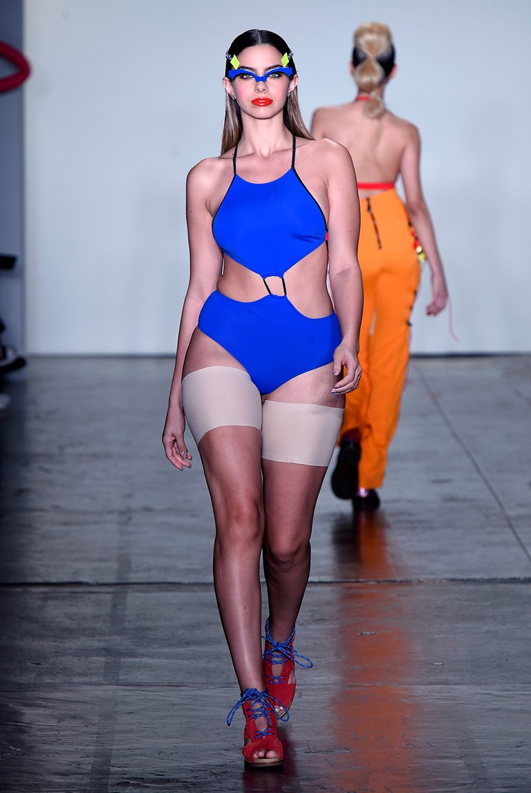 Chromat show, Runway, Fall Winter 2018, New York Fashion Week, USA - 09 Feb 2018