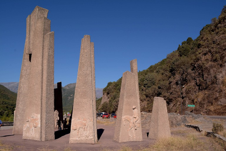 A monument in Chile