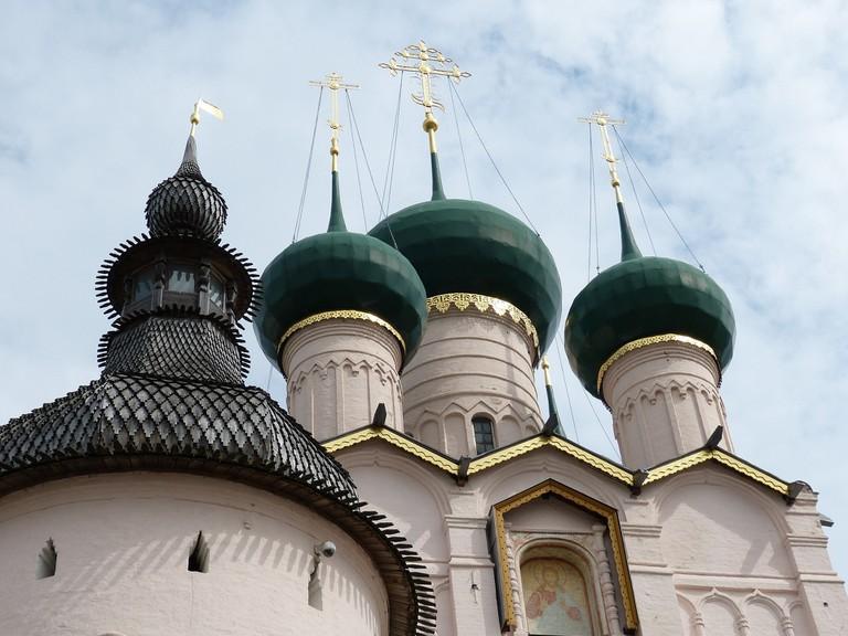 Orthodox church in Rostov