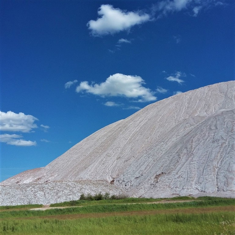 Salt mountains near Soligorsk, Belarus | © author's photo