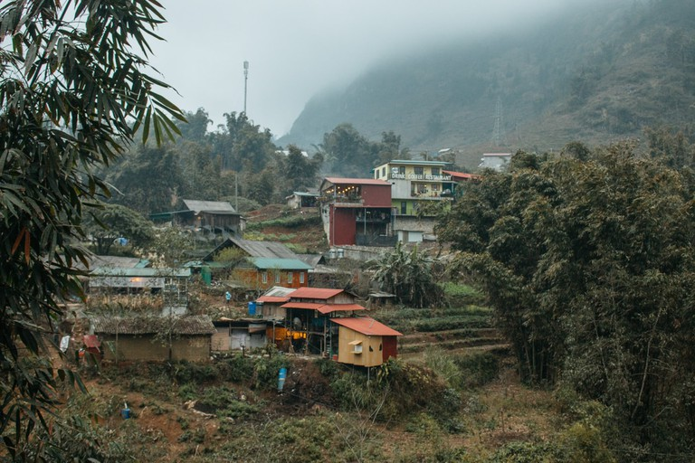 Cat Cat Village is nestled at the bottom of Muong Hoa Valley.