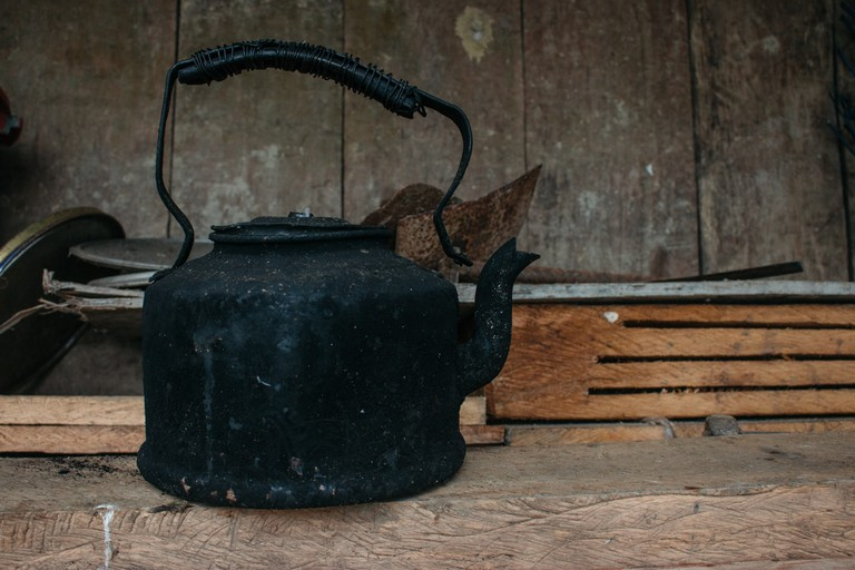 The traditional kettle