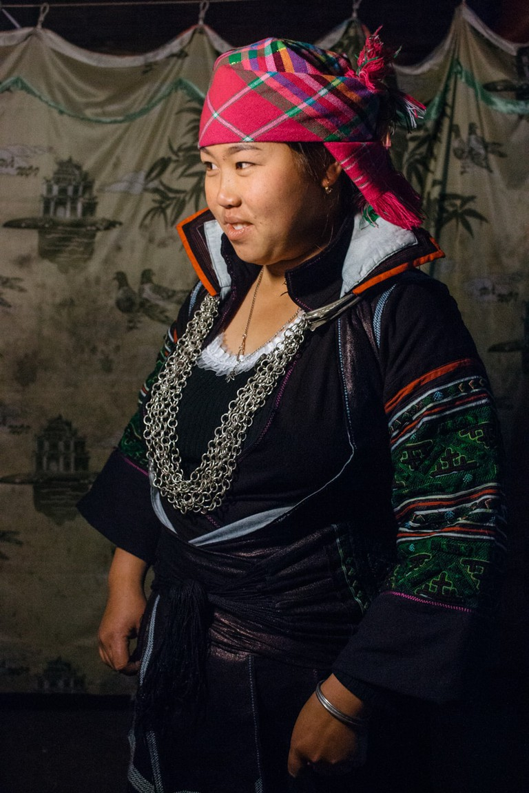 Traditional H'Mong clothing