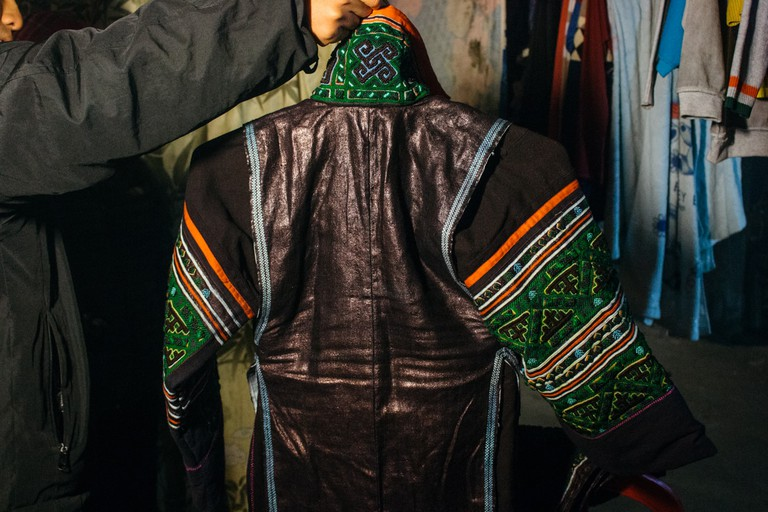 Traditional H'Mong jacket