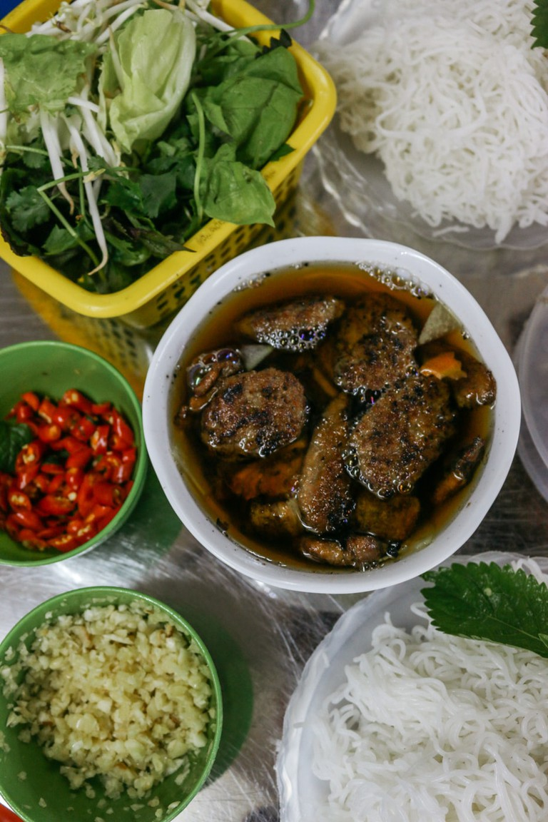 Bun Cha at Hung Lau in Hanoi © Pham/Culture Trip
