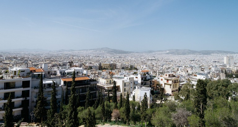 Exarchia Neighbourhood-Athens-Greece