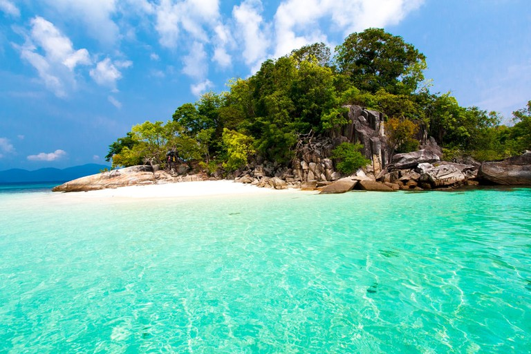 Stunningly clear waters around Thailand's Koh Lipe