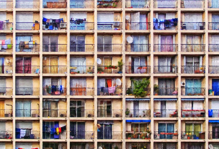 Social housing in Marseille