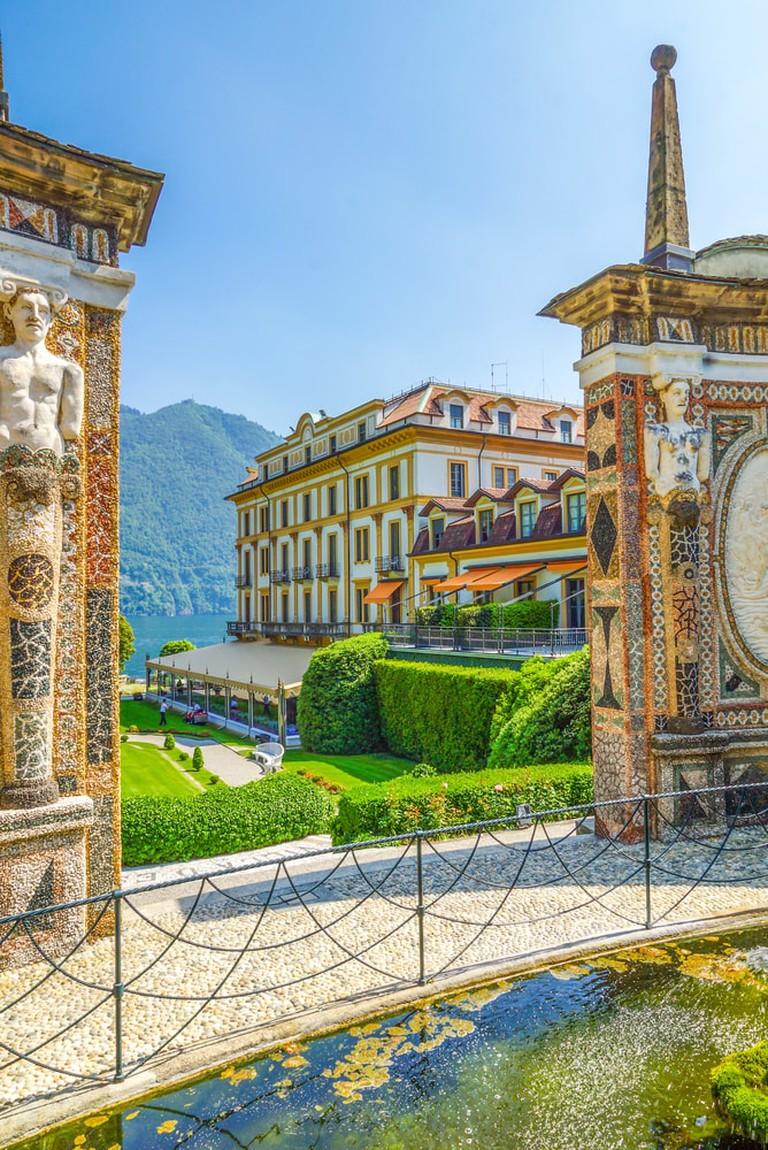 Villa D'Este, Lake Como | Shutterstock/LaMiaPhotography