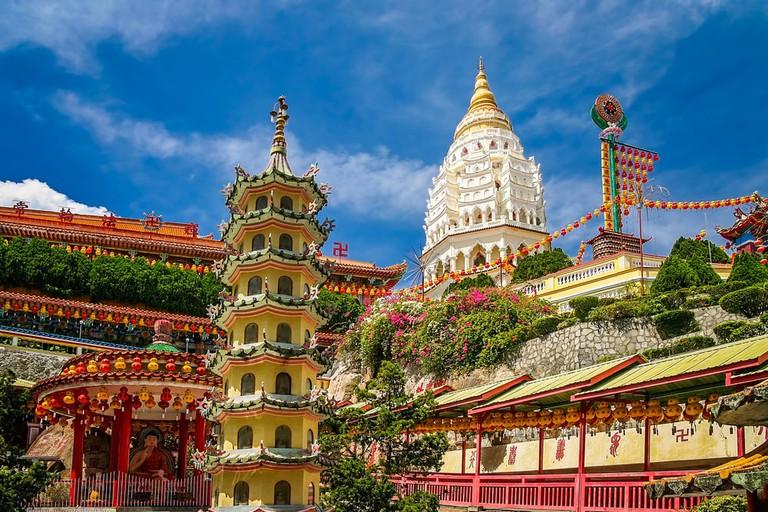 Penang's famous Kek Lok Si Temple