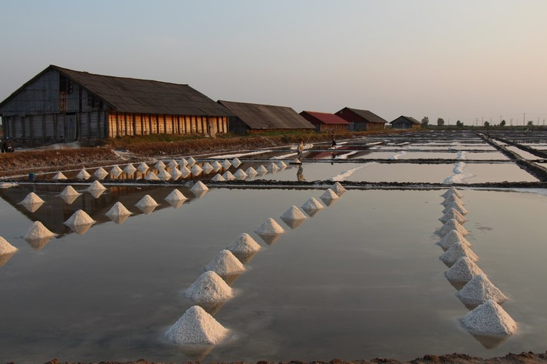 Kampot salt fields