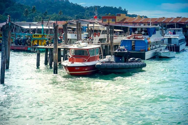Jetty at Pulau Pangkor