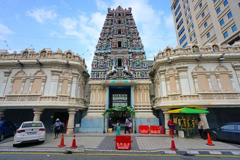 Kuala Lumpur's Sri Mahamariamman Temple
