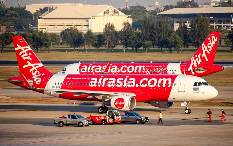 AirAsia is one of Asia's largest budget airlines and is based in Kuala Lumpur