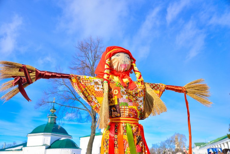 Figure of Lady Maslenitsa