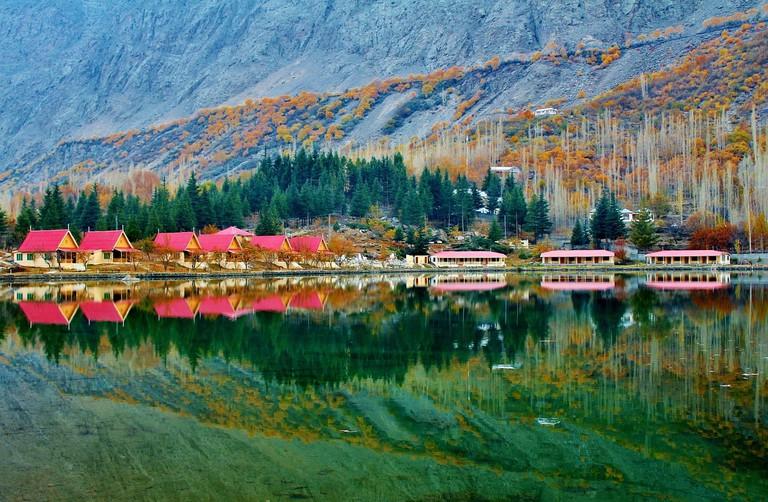Skardu Lower Kachura Lake Shangrila Lake Pakistan
