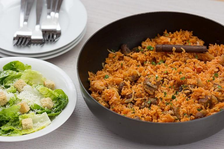 Djiboutian lamb stew