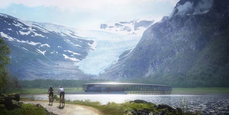 Snøhetta Plompmozes - Svartisen Glacier Resort Mulighetsstudie - Esoteric