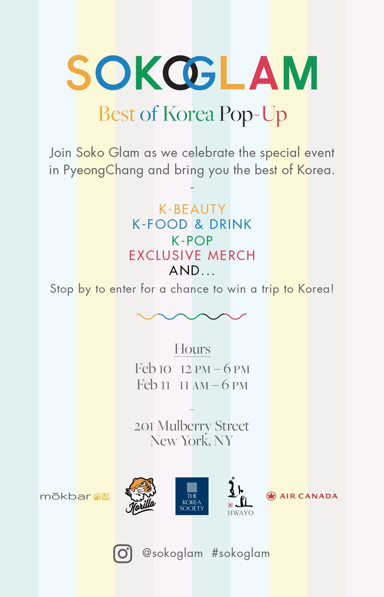 Soko Glam Best of Korea Pop-Up
