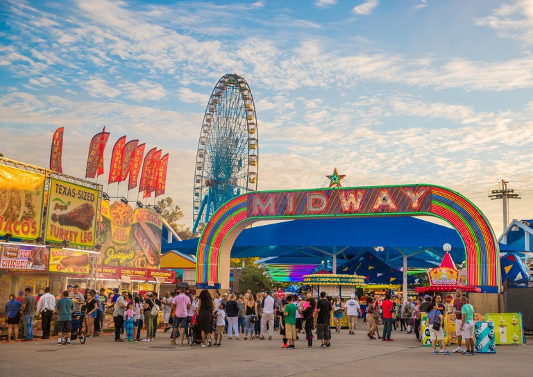 Midway at the State Fair of Texas │Courtesy of VisitDallas