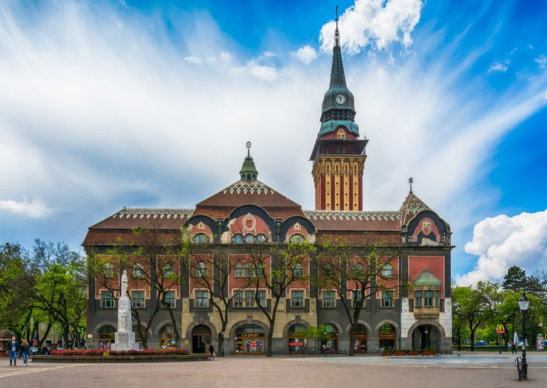 Subotica's magnificent City Hall
