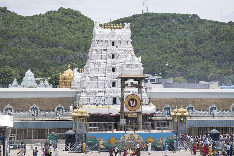 The Tirumala Devasthanan in Tirupati is one of the richest temples in the world