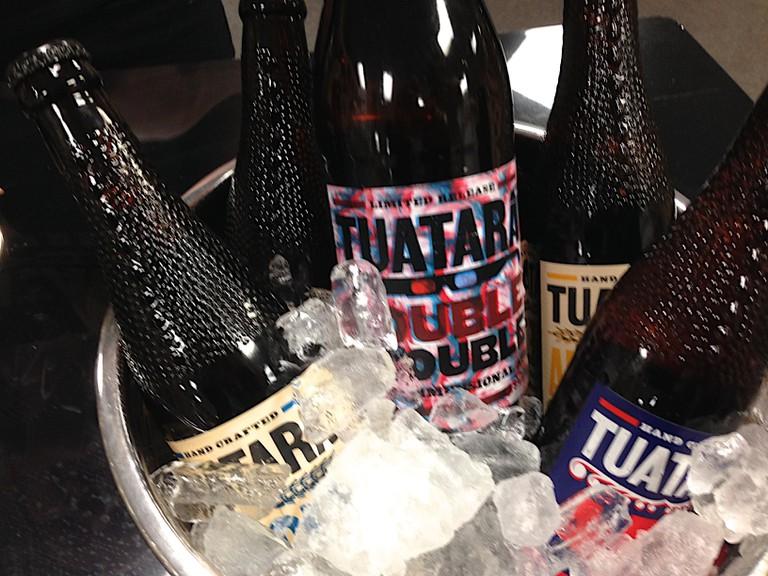 Tuatara Brewery Sampler | © Alan Levine