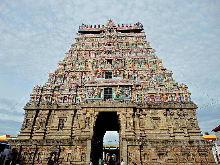 Uttara Chidambaram Temple, TN, replica of which is in Satara