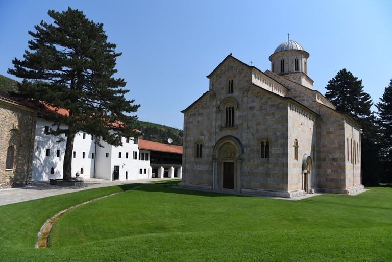 Visok Dečani is one of Serbia's most treasured monasteries